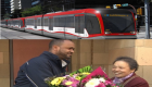 Mesfin Tadese C-Train operator in Calgary helped return  missing woman purse containing $1,300
