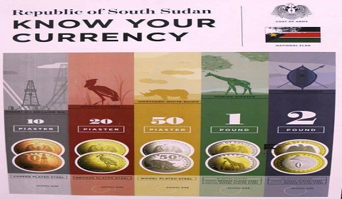South Sudan, introduces its first coins on fourth year anniversary